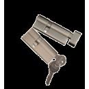Komplet wkładek system 1 klucza do drzwi SP