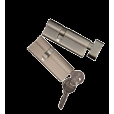 Komplet wkładek system 1 klucza do drzwi LUX 72 mm
