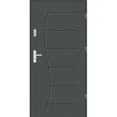 Drzwi wejściowe stalowe zewnętrzne LUX 43