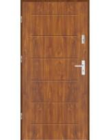 Drzwi wejściowe stalowe model LUX T42