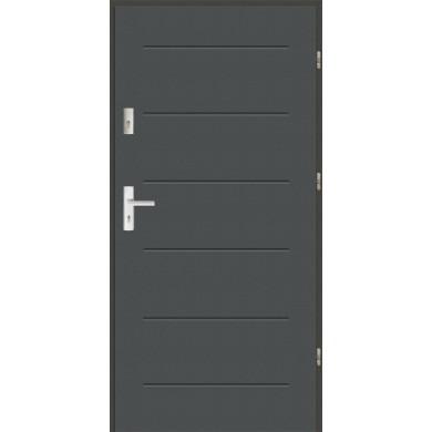 Drzwi wejściowe stalowe zewnętrzne LUX 42