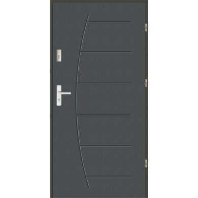 Drzwi wejściowe stalowe zewnętrzne LUX 44