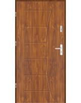 Drzwi wejściowe stalowe model LUX T45