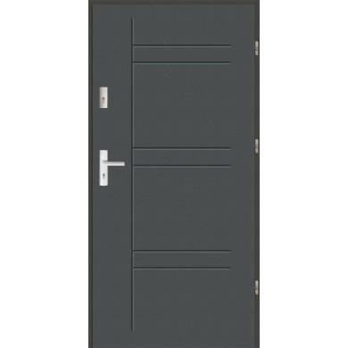 Drzwi wejściowe stalowe zewnętrzne LUX 46