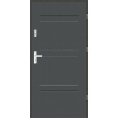 Drzwi wejściowe stalowe zewnętrzne LUX 47