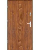 Drzwi wejściowe stalowe model LUX GALA 3