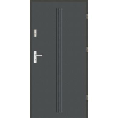 Drzwi wejściowe stalowe zewnętrzne LUX GALA 4