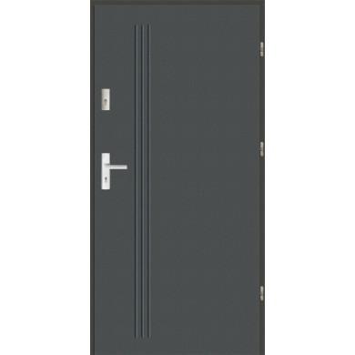 Drzwi wejściowe stalowe zewnętrzne LUX GALA 5