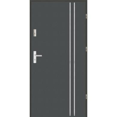 Drzwi wejściowe stalowe zewnętrzne LUX AP 2