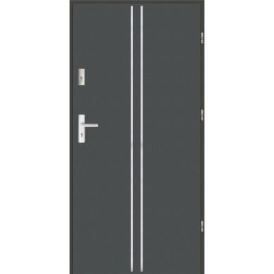 Drzwi wejściowe stalowe zewnętrzne LUX AP 3