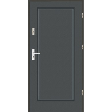 Drzwi wejściowe stalowe zewnętrzne LUX MODERN