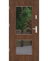 Drzwi wejściowe stalowe model LUX DUO 2