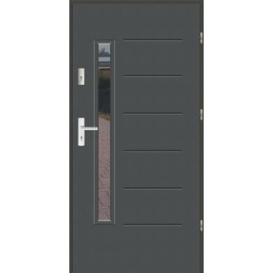 Drzwi wejściowe stalowe zewnętrzne LUX GALA 1S