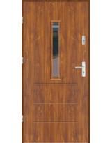 Drzwi wejściowe stalowe model LUX WIKI 2