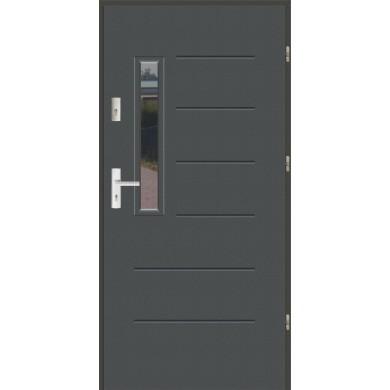 Drzwi wejściowe stalowe zewnętrzne LUX WIKI 3