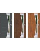 Drzwi LUX GALA 140 INOX