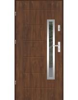 Drzwi wejściowe stalowe model LUX GALA 81 INOX