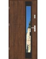Drzwi wejściowe stalowe model LUX GALA 27 BLACK