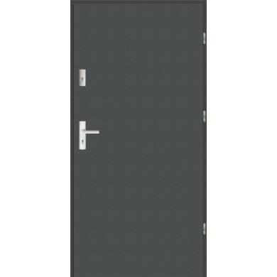 Drzwi wejściowe stalowe zewnętrzne SP PŁASKIE