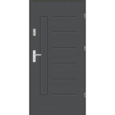 Drzwi wejściowe stalowe zewnętrzne SP GALA 1