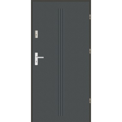Drzwi wejściowe stalowe zewnętrzne SP GALA 4