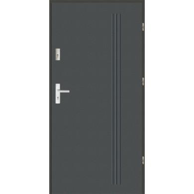 Drzwi wejściowe stalowe zewnętrzne SP GALA 6
