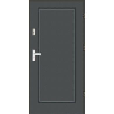 Drzwi wejściowe stalowe zewnętrzne SP MODERN