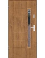 Drzwi wejściowe stalowe model SP GALA 1S