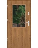 Drzwi wejściowe stalowe model SP DUO 1