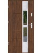Drzwi wejściowe stalowe model SP GALA 135 INOX