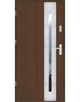 Drzwi wejściowe stalowe model SP GALA 43 INOX