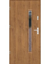 Drzwi wejściowe stalowe model SP PŁASKIE S16