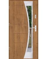 Drzwi wejściowe stalowe model SP GALA 40 INOX