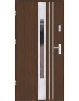 Drzwi wejściowe stalowe model SP F 44 INOX