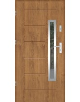 Drzwi wejściowe stalowe model SP GALA 81 INOX