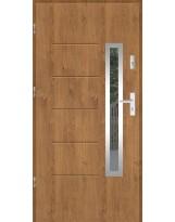 Drzwi wejściowe stalowe model SP GALA 82 INOX