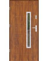 Drzwi wejściowe stalowe model SP GALA 83 INOX