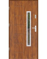 Drzwi wejściowe stalowe model SP GALA 176 INOX