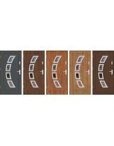 Drzwi wejściowe stalowe zewnętrzne SP GALA 27 INOX