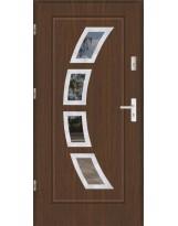Drzwi wejściowe stalowe model SP FINEZJA 3 INOX