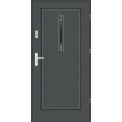 Drzwi wejściowe stalowe zewnętrzne LUX MODERN 25