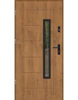 Drzwi wejściowe stalowe model SP GALA 83 BLACK