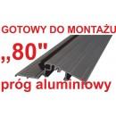 Próg aluminiowy 80