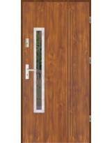 Drzwi wejściowe stalowe model SP GALA 78 INOX