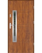 Drzwi wejściowe stalowe model SP GALA 86 INOX