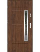 Drzwi wejściowe stalowe model SP GALA 87 INOX