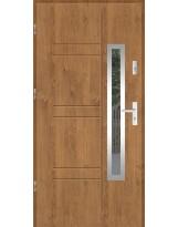 Drzwi wejściowe stalowe model SP GALA 177 INOX