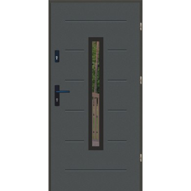 Drzwi LUX GALA 73 BLACK