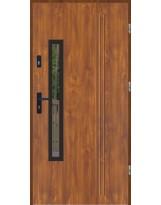 Drzwi wejściowe stalowe model LUX GALA 78 BLACK