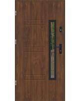 Drzwi wejściowe stalowe model LUX GALA 86 BLACK